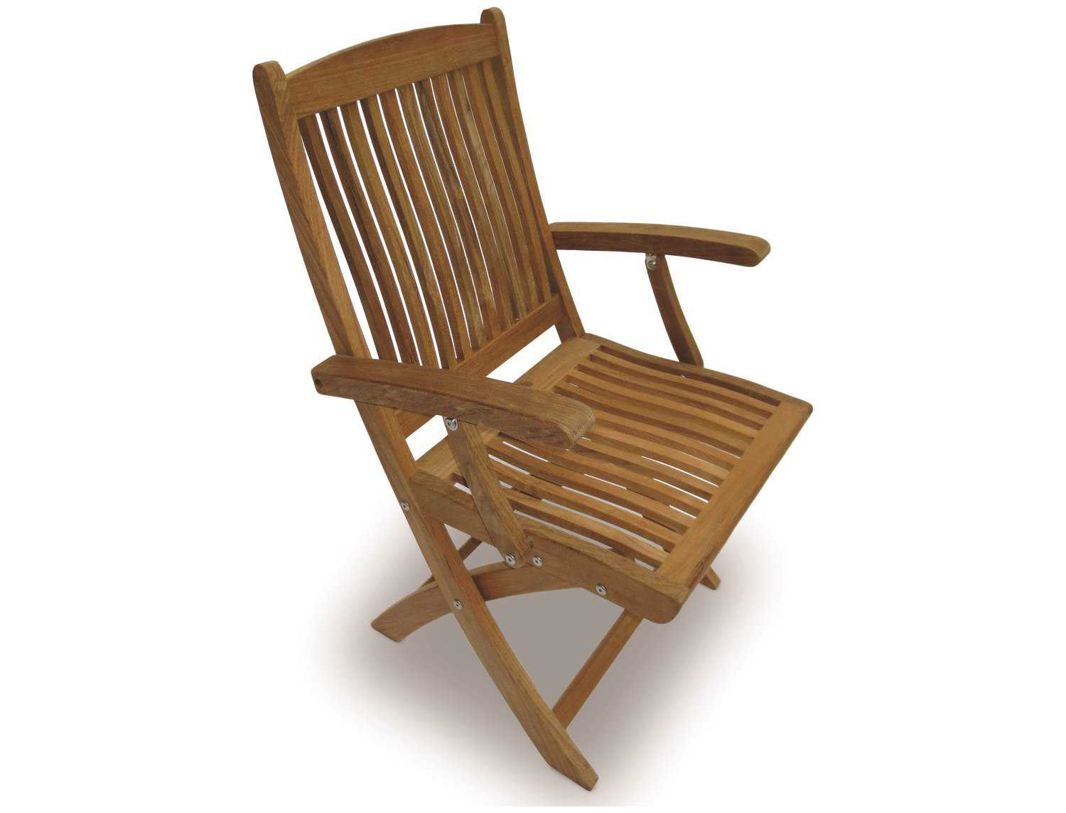 Folding Arm Chair Royal Teak Collection Sailor Folding Dining Arm Chair Rlsfc