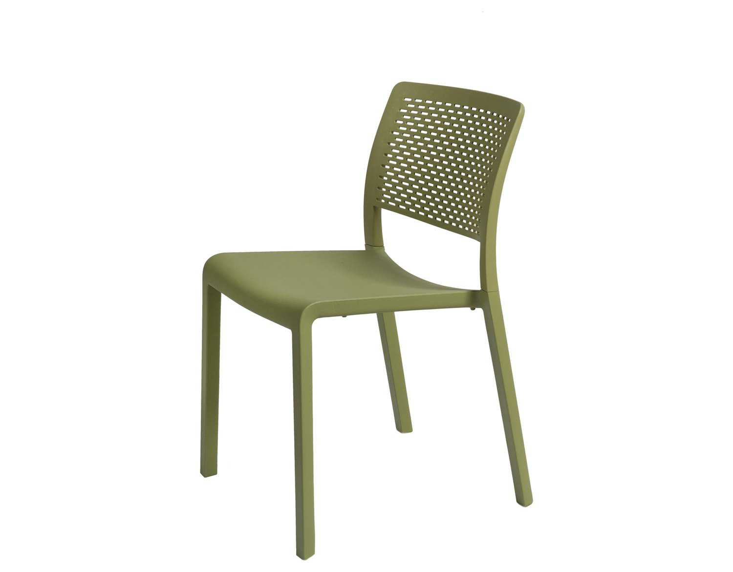 Plastic Dining Chairs Resol Trama Recycled Plastic Green Olive Side Chair Rs30690