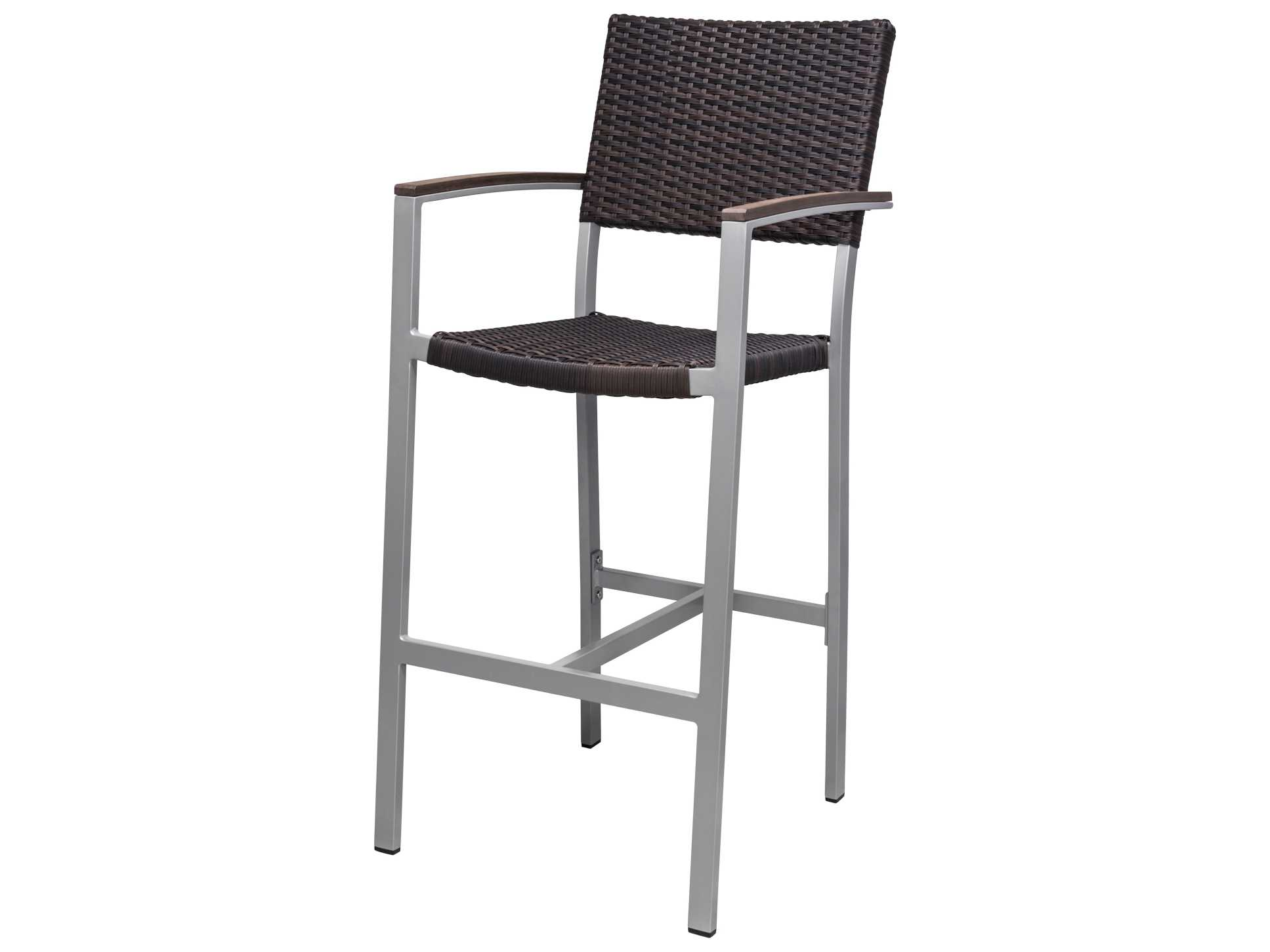 Source Outdoor Furniture Fiji Wicker Bar Arm Chair Sc