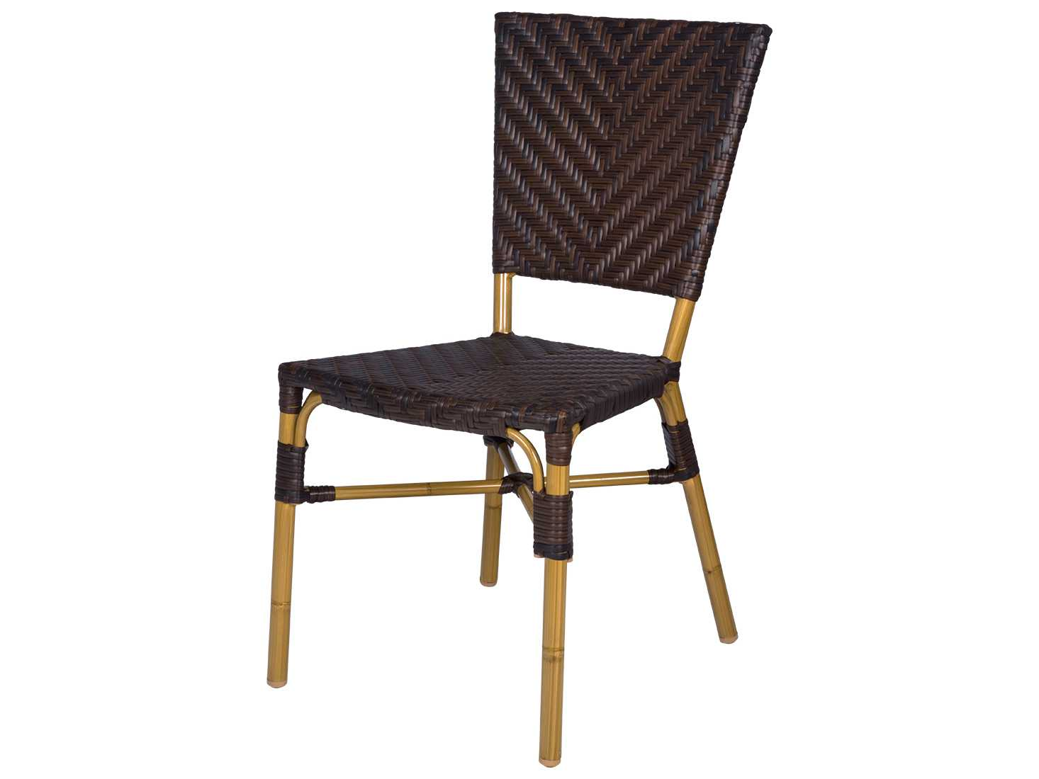 Wicker Side Chair Source Outdoor Furniture Capri Wicker Dining Side Chair