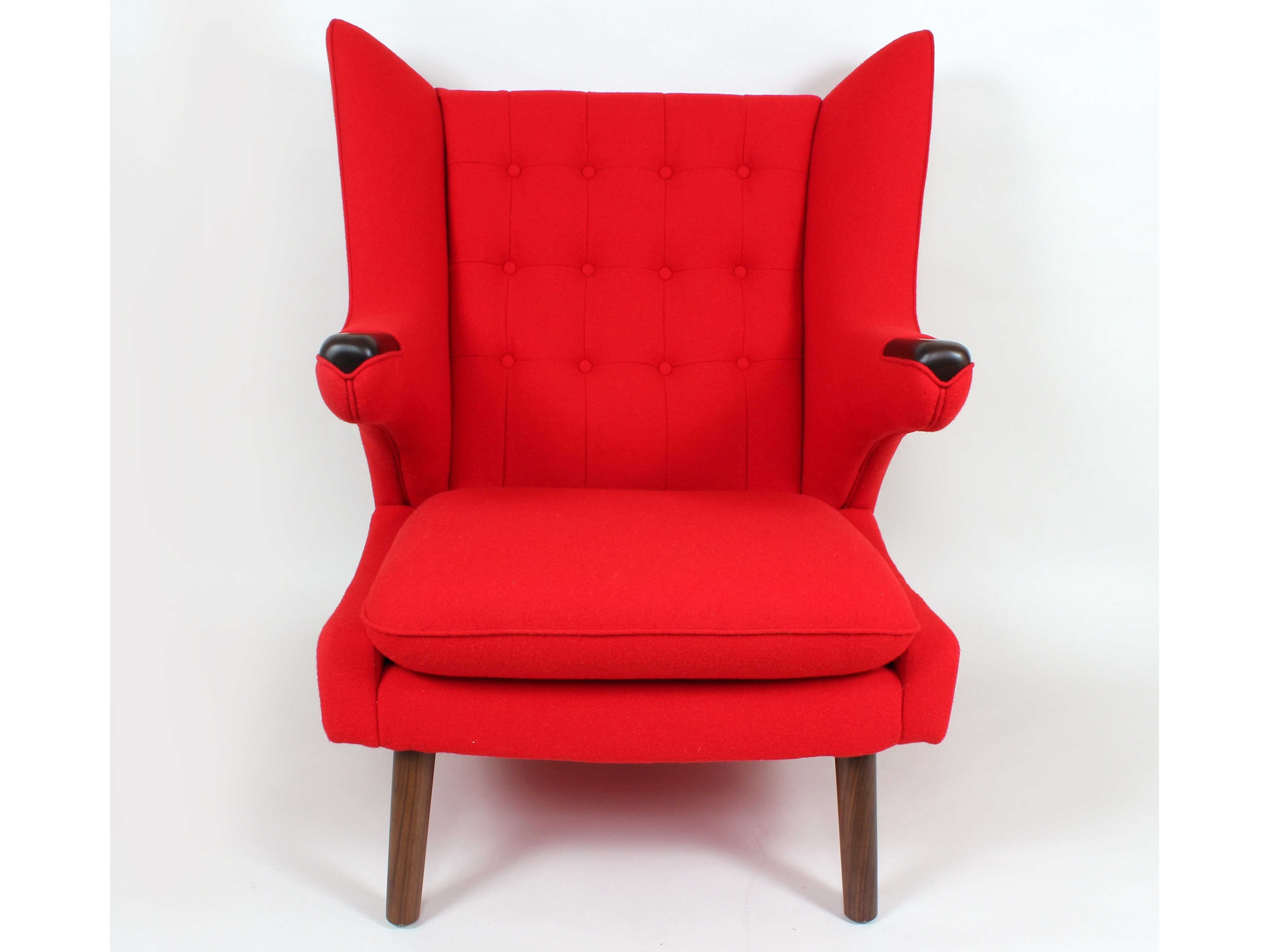 Modern Red Chair Stilnovo Olsen Red Accent Chair Fb759red