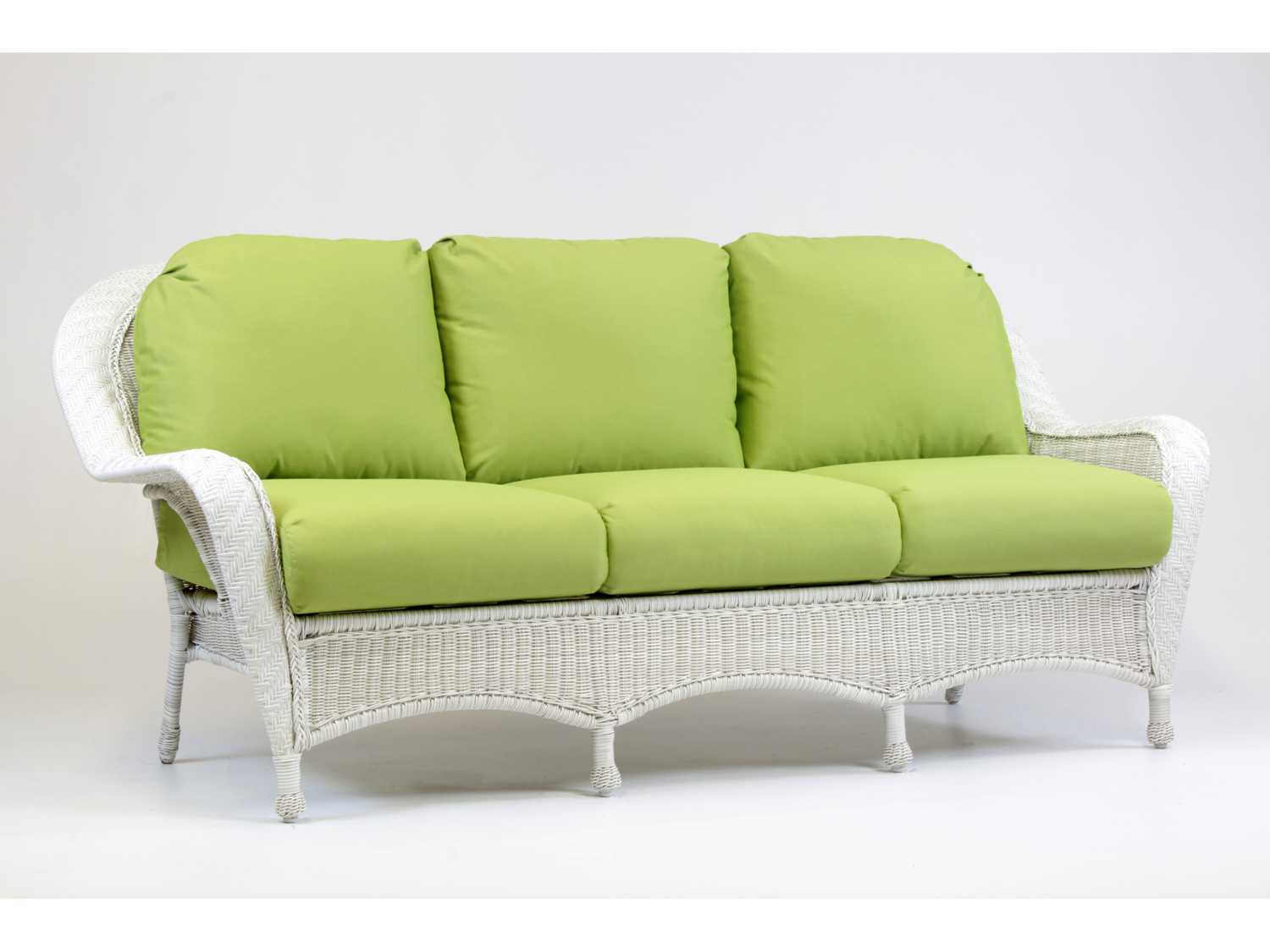 western style sofa covers queen anne sofas and chairs south sea rattan key west wicker cushion sr75403