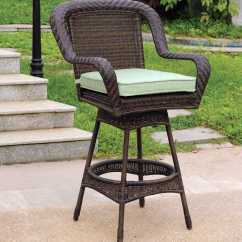 Key West Chairs Christmas Chair Covers Costco South Sea Rattan Wicker Cushion Arm Swivel Bar