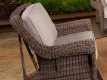 Outdoor Wicker Swivel Glider Chairs
