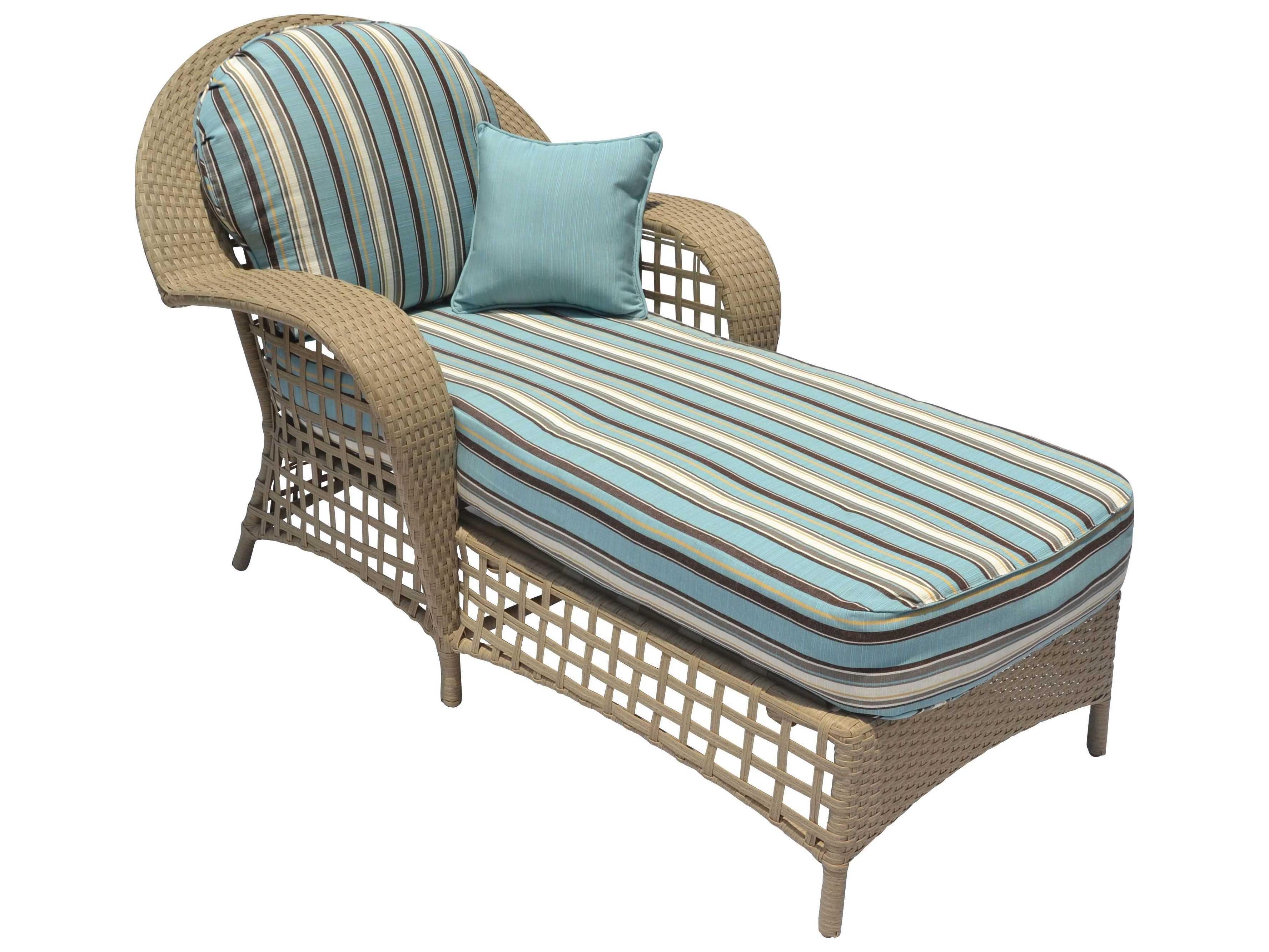 Suncoast Sedona Wicker Chaise Lounge  SU12933