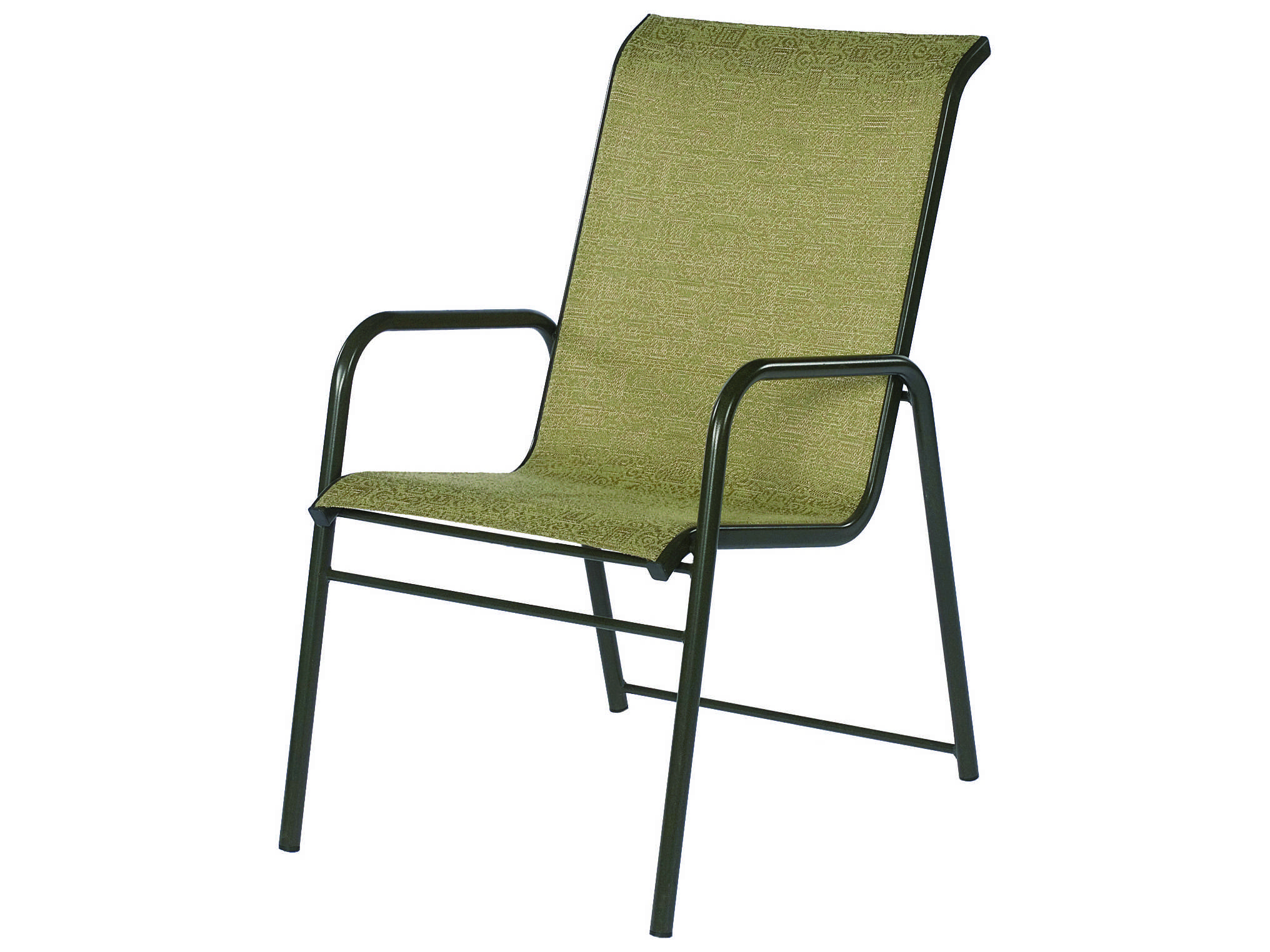 aluminum patio chairs nat's fishing chair bug suncoast sanibel sling cast arm stackable dining