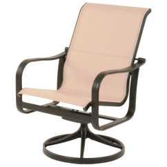 Sling Motion Patio Chairs 4 Chair Dining Table Set Suncoast Rosetta Cast Aluminum Arm Swivel Rocker
