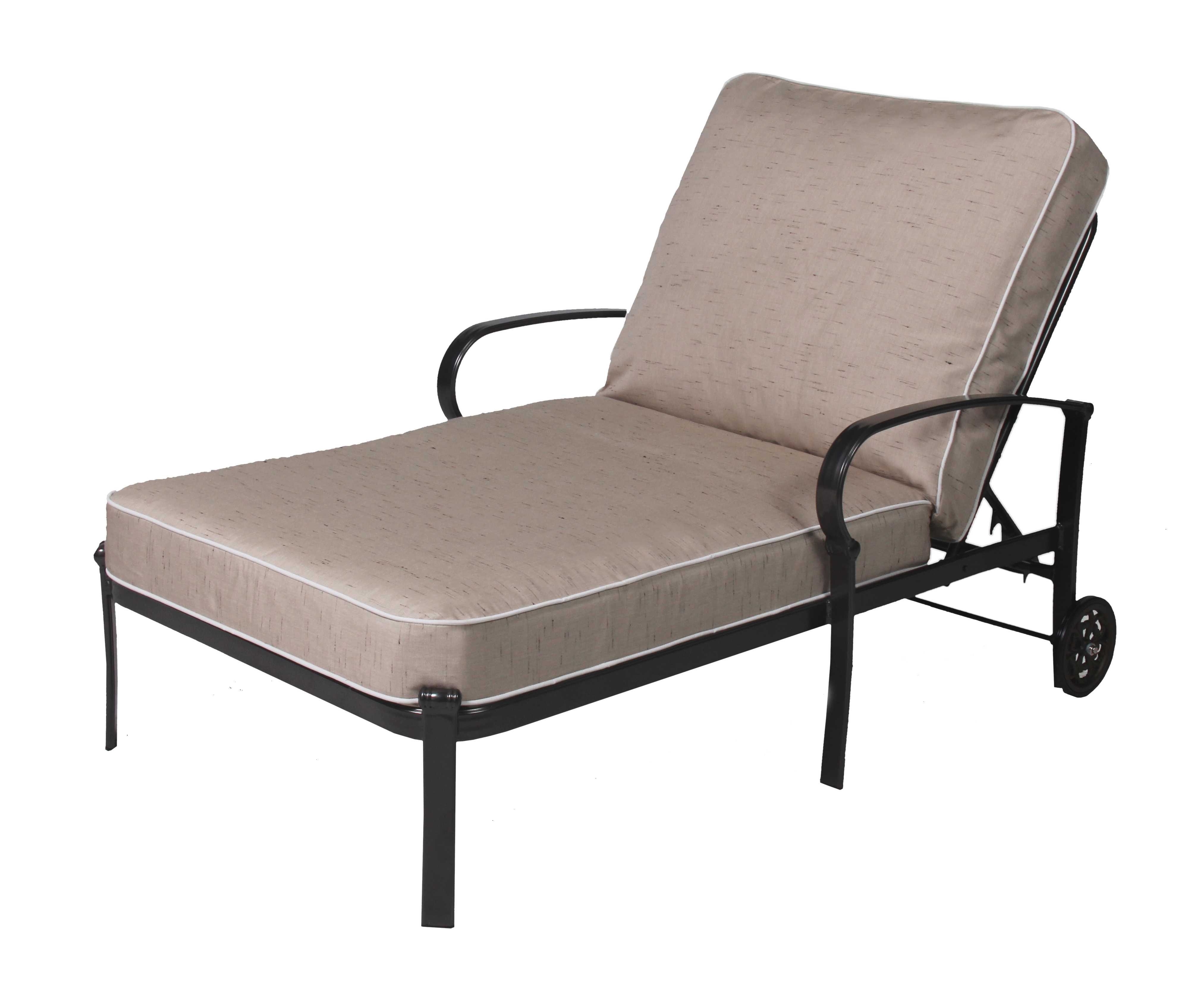 Chair And A Half Chaise Suncoast Madison Aluminum Chaise And A Half D913