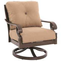 Swivel Chair In Spanish Modern Rental Sunvilla Veritas Aluminum Gold Lounge