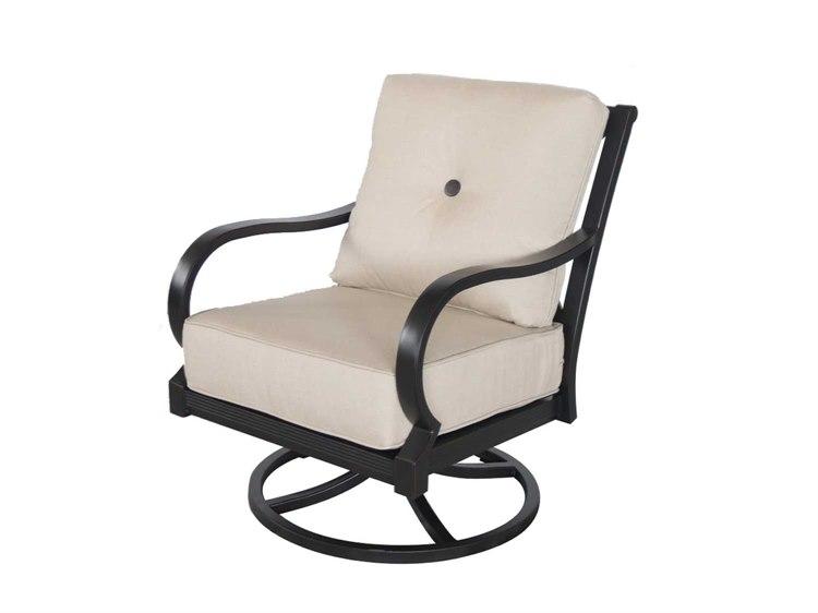 sailcloth beach chairs blue fuzzy chair sunvilla laurel cushion aluminum swivel lounge in sahara suna12530002fccl