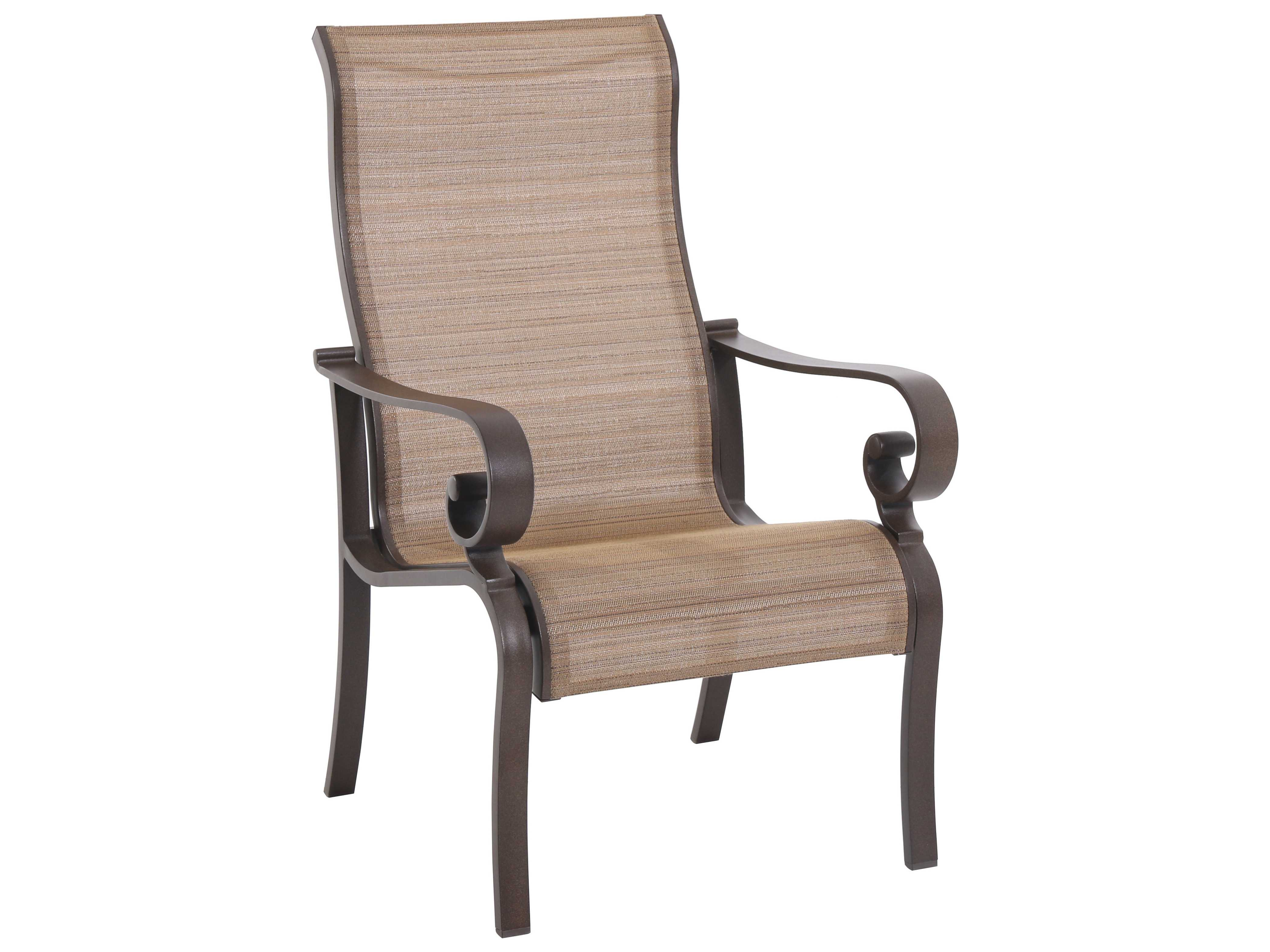 target sling chair tan white folding chairs sunvilla riva cast aluminum dining in weyburn