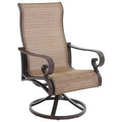 Target Sling Chair Tan Abbyson Living Rocking Sunvilla Riva Cast Aluminum Swivel Dining In