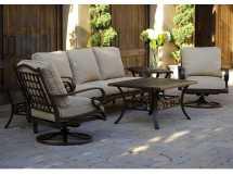 Sunvilla Biscay Aluminum Lounge Set Sunbiscaylngeset3