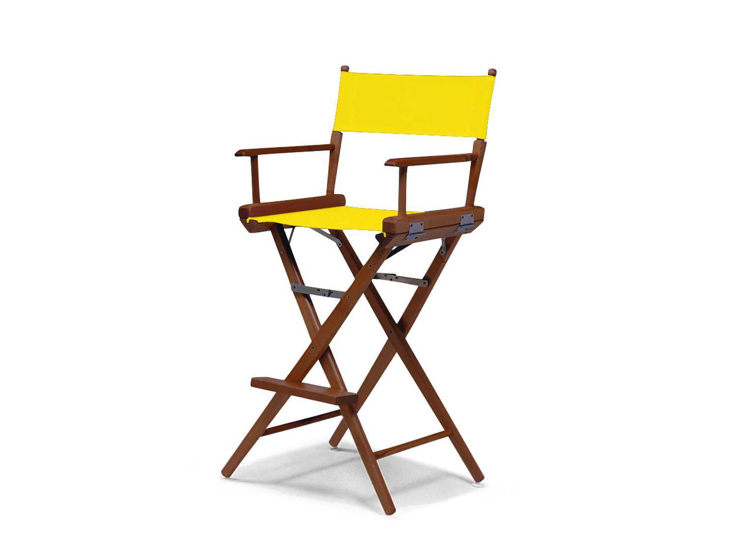 counter height directors chair chicco lime green high telescope casual world famous director wood