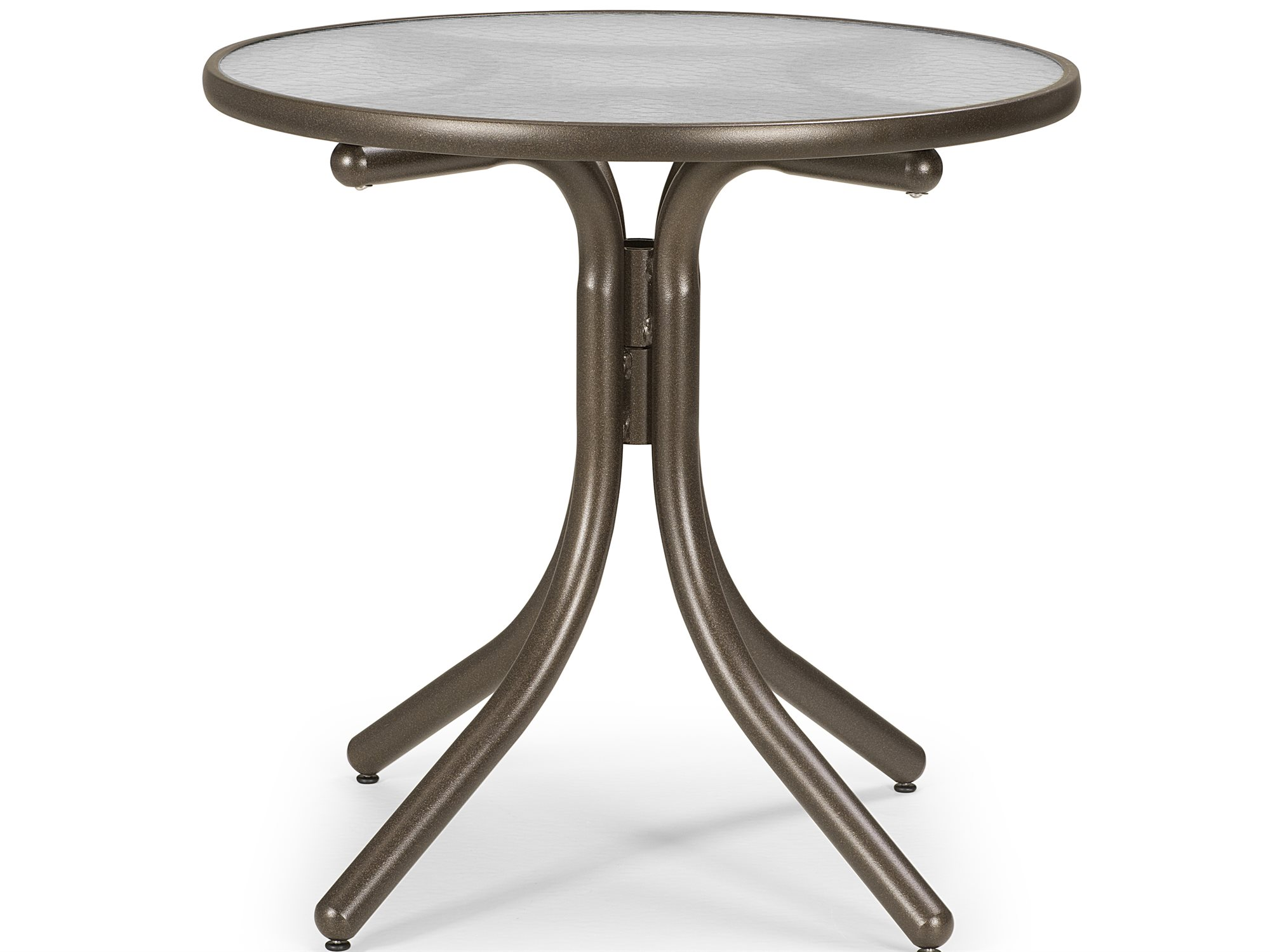 Telescope Casual Glass 36'' Round Chat Height Table