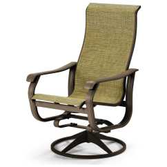 Swivel Patio Chair Potato Chip Telescope Casual Villa Sling Supreme Rocker Lounge