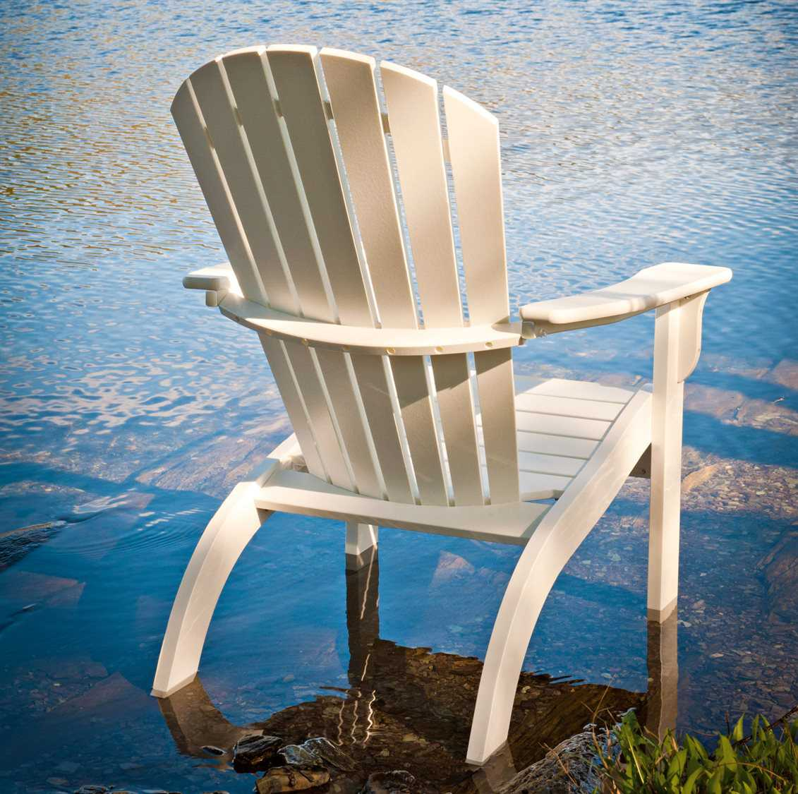 Telescope Casual Adirondack MGP Recycled Plastic Lounge Chair  8A10
