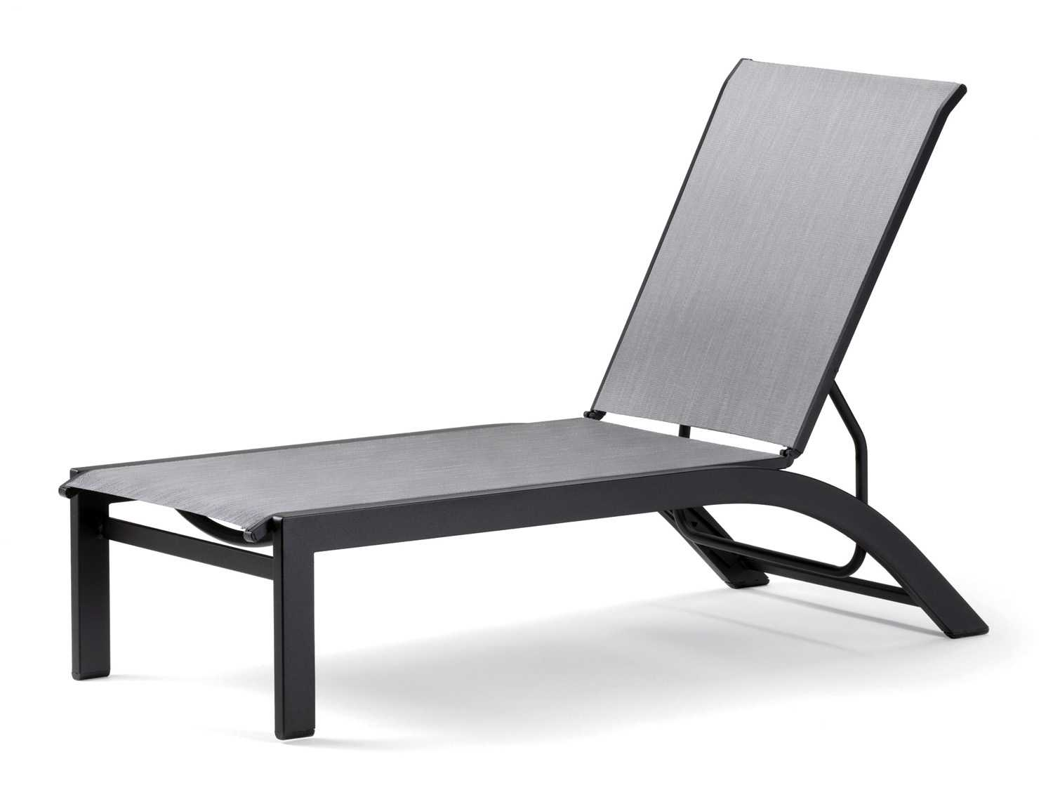 sling chaise lounge chair chevalier chairs for sale telescope casual kendall aluminum lay flat patio