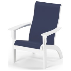 Sailcloth Beach Chairs Wheelchair That Goes Up Stairs Telescope Casual Adirondack Mgp Sling Recycled Plastic
