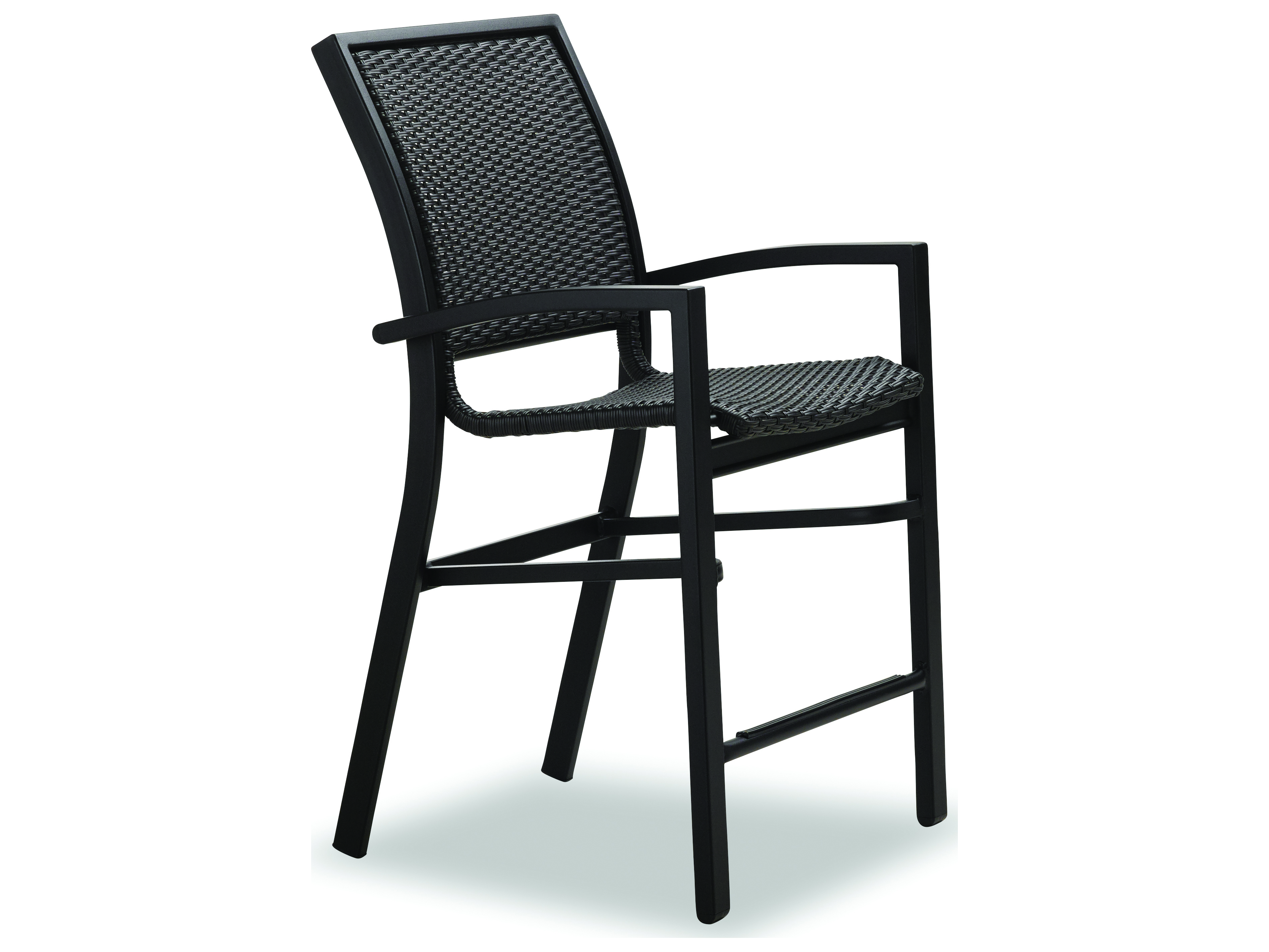 Balcony Height Patio Chairs Telescope Casual Kendall Wicker Aluminum Balcony Height