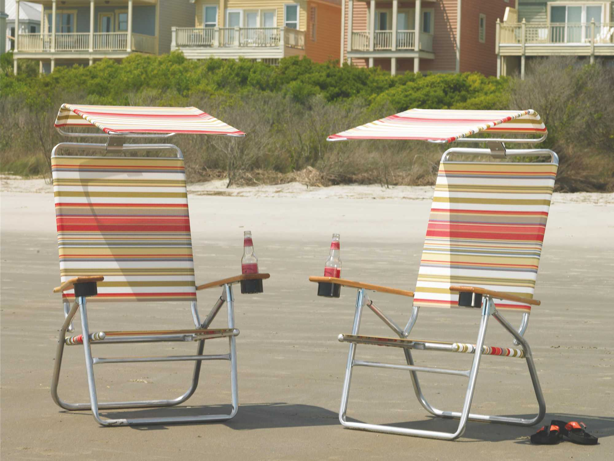 Telescope Beach Chair Telescope Casual Beach Chairs Aluminum With Hood Sling