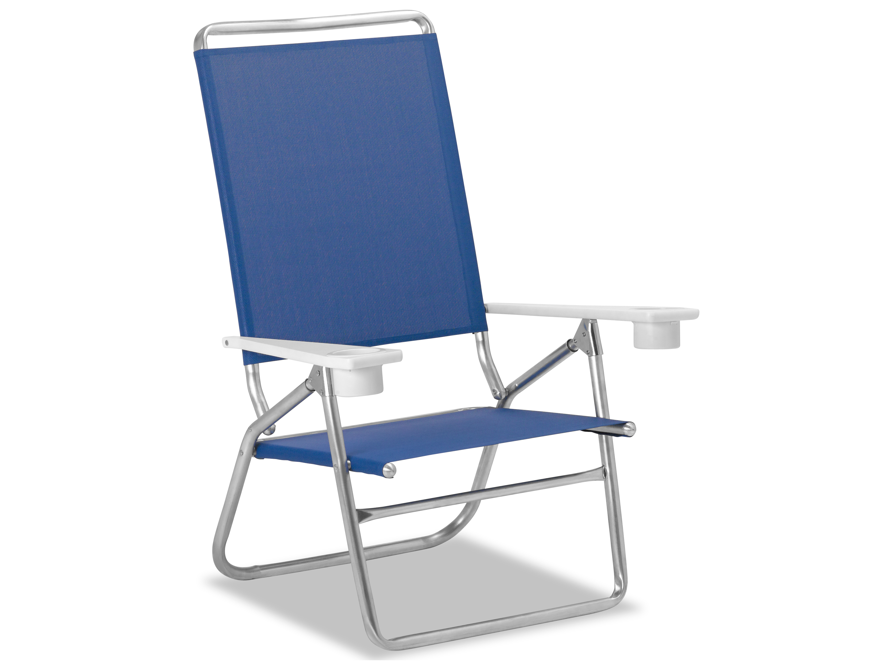 Telescope Beach Chair Telescope Casual Beach And Aluminum Light N Easy High Boy With Mgp Arms With Cup Holders