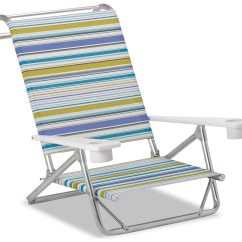 Beach Chairs With Cup Holders Chair Covers For Easter Telescope Casual And Aluminum Original Mini Sun