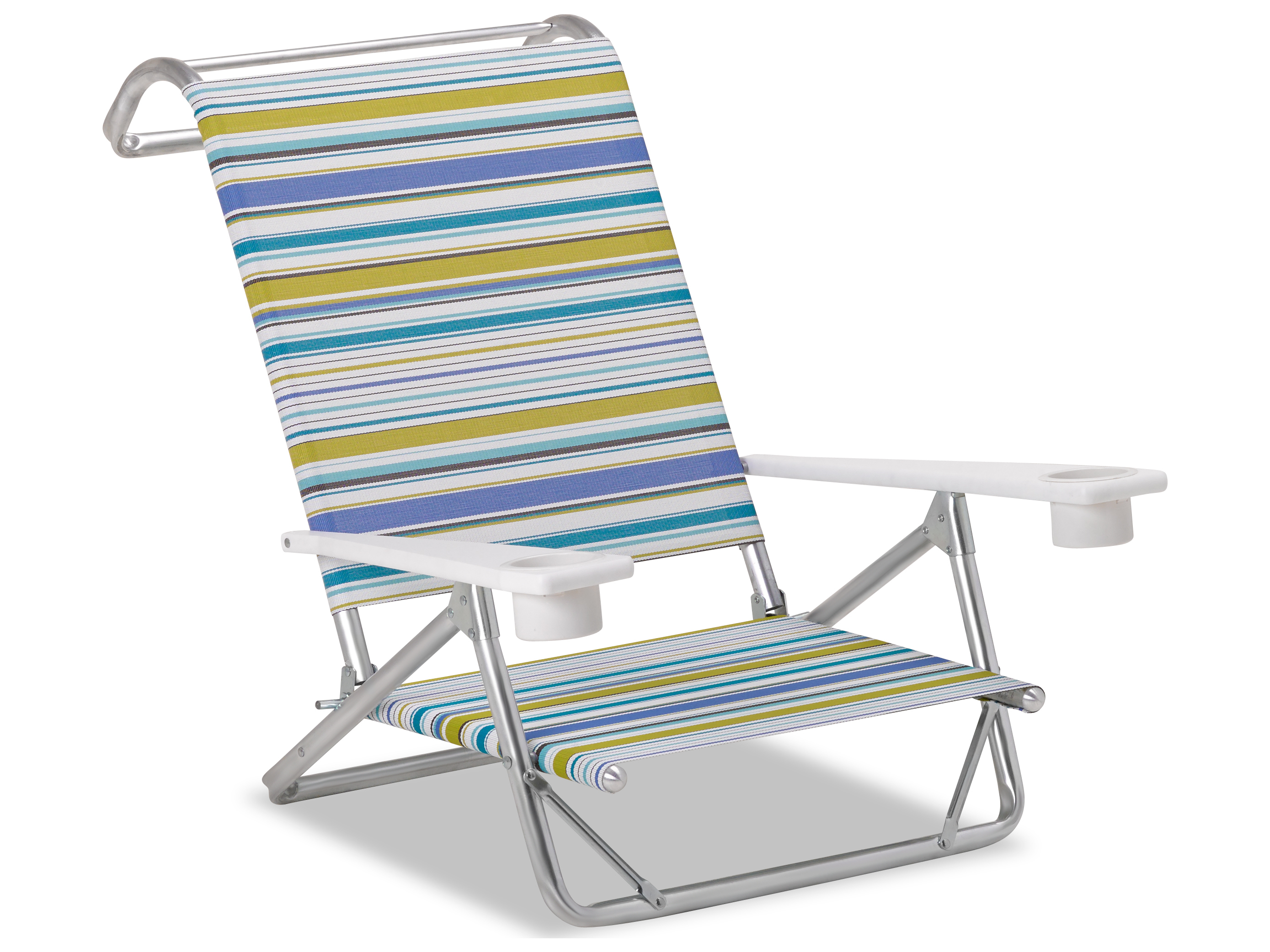Beach Chair With Cup Holder Telescope Casual Beach And Aluminum Original Mini Sun