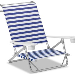Beach Chairs With Cup Holders Hydraulic Barber Chair Telescope Casual And Aluminum Original Mini Sun