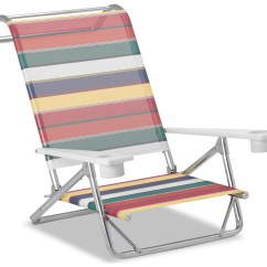 Beach Chairs With Cup Holders Lumbar Support Telescope Casual And Aluminum Original Mini Sun