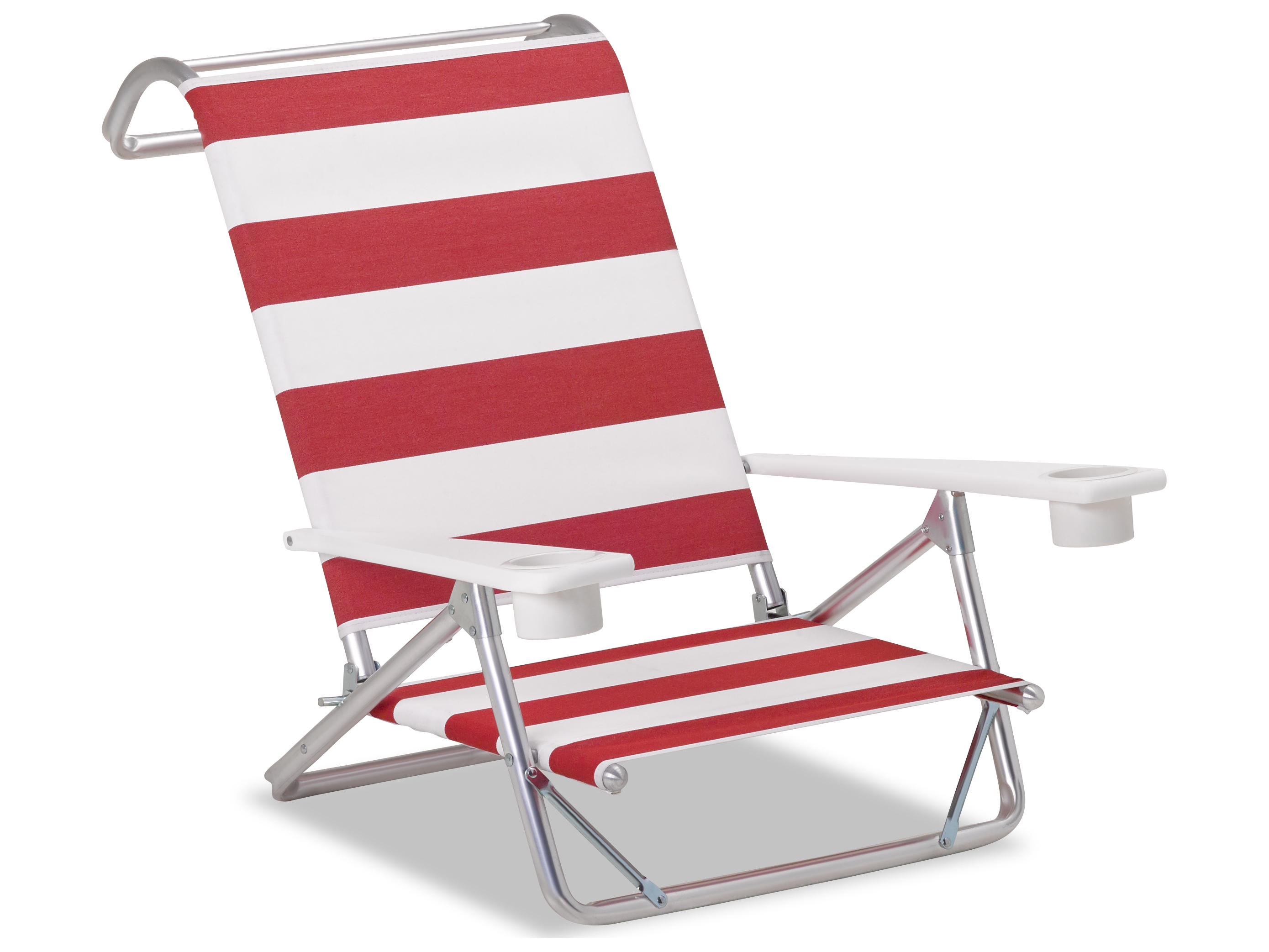 beach chairs with cup holders pallet adirondack telescope casual and aluminum original mini sun