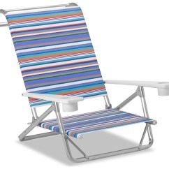 Beach Chairs With Cup Holders High Chair That Turns Into A Telescope Casual And Aluminum Original Mini Sun