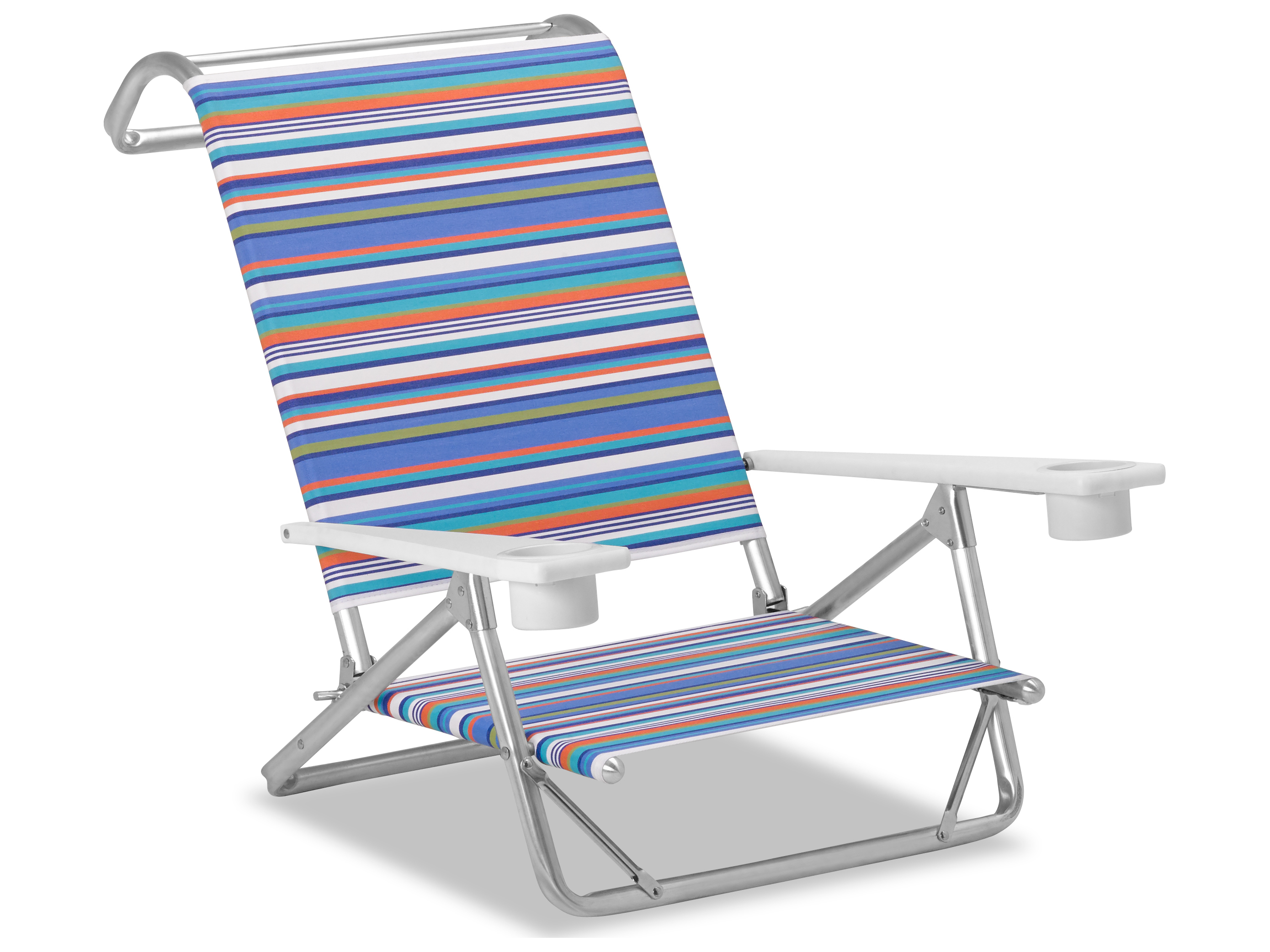Telescope Beach Chair Telescope Casual Beach And Aluminum Original Mini Sun Chaise With Mgp Arms With Cup Holders