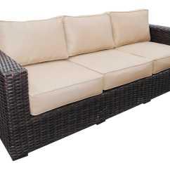 Santa Monica Sofa Set 3 Piece Covers Teva Wicker Lounge Tesantamlngeset