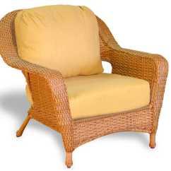 Wicker Outdoor Chairs Adirondack For Kids Tortuga Lexington Cushion Club Chair Lex C1