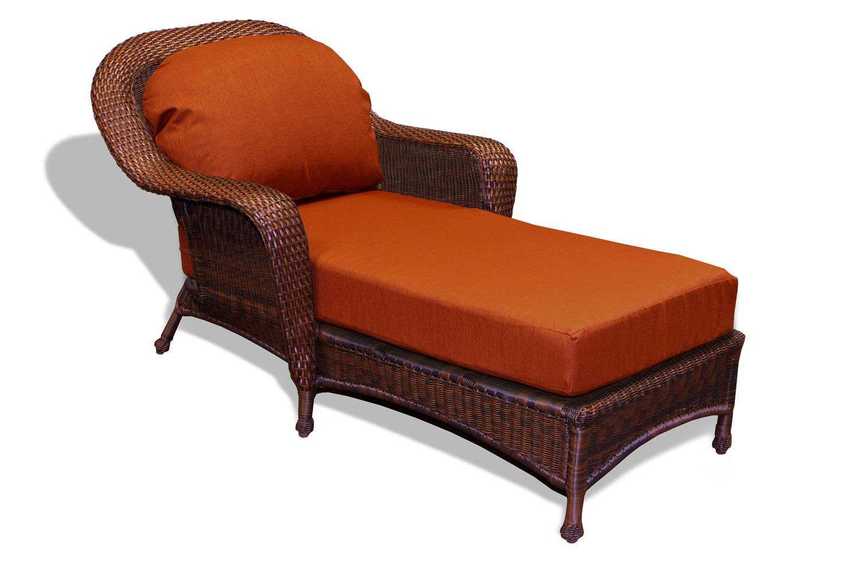 Tortuga Outdoor Lexington Wicker Cushion Chaise Lounge