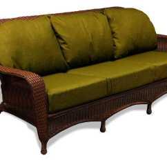 Outdoor Wicker Sofa Cushions Circular Design Tortuga Lexington Cushion Lex S1