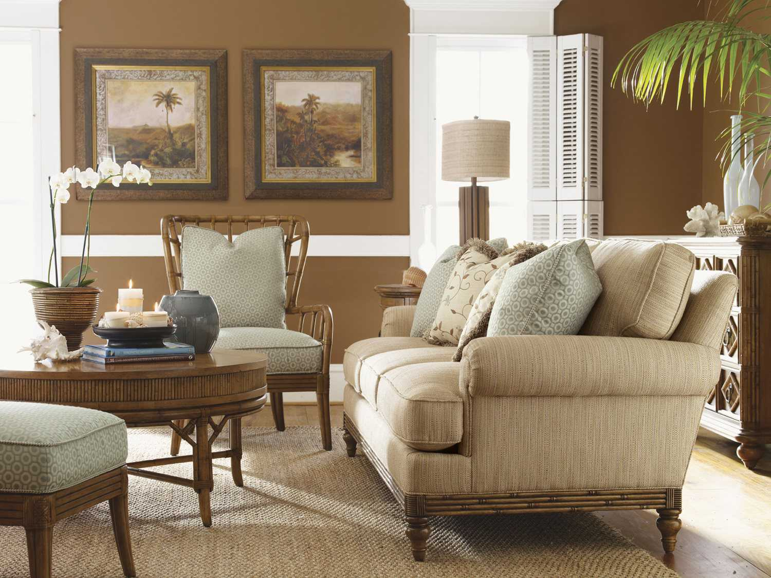 tropical sofa slipcovers recliner sale tommy bahama beach house living room set