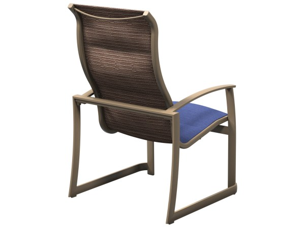 Stackable Sling Patio Dining Chairs