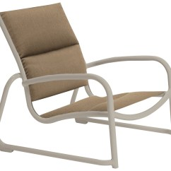 Tropitone Lounge Chairs Ivory Chair Covers For Rent Milennia Padded Sling Aluminum Sand 220413ps