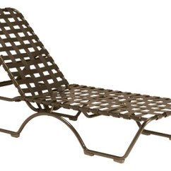 Tropitone Lounge Chairs Swing Chair Mauritius Outdoor Chaise Lounges Patioliving Kahana Cross Strap Aluminum Stackable