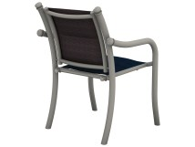 Tropitone La Scala Padded Sling Aluminum Dining Chair