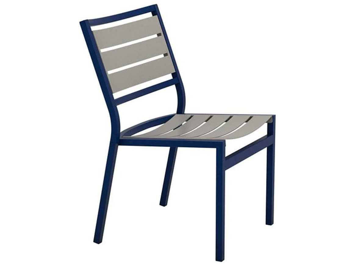 Cabana Chair Tropitone Cabana Club Aluminum Slats Side Chair 591028ms