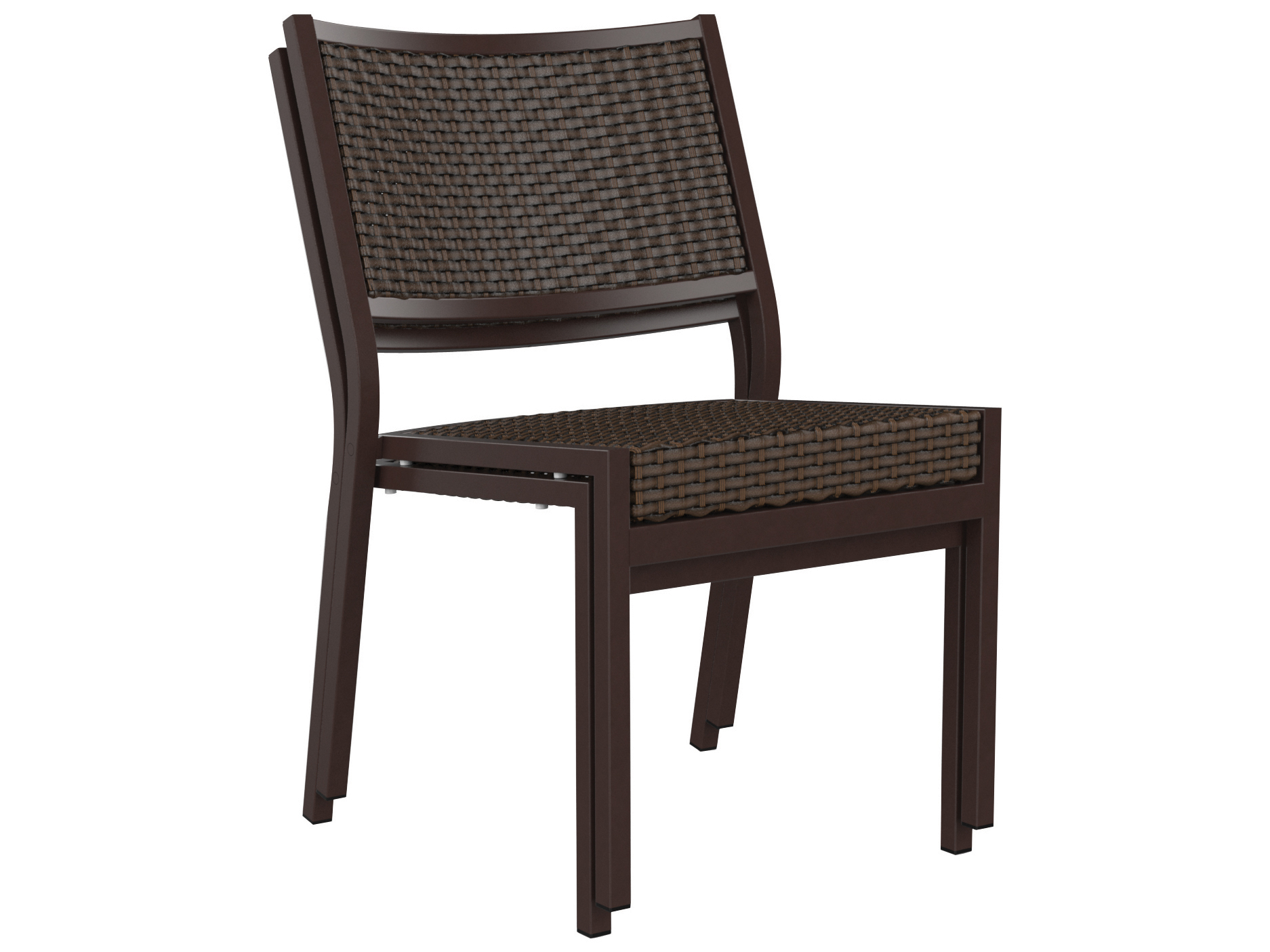 Cabana Chair Tropitone Cabana Club Woven Side Chair 591528ws