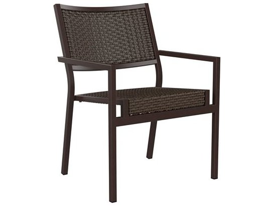 Woven Dining Chair Tropitone Cabana Club Woven Dining Chair