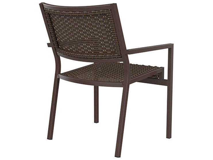 Cabana Chair Tropitone Cabana Club Woven Dining Chairs 591537ws