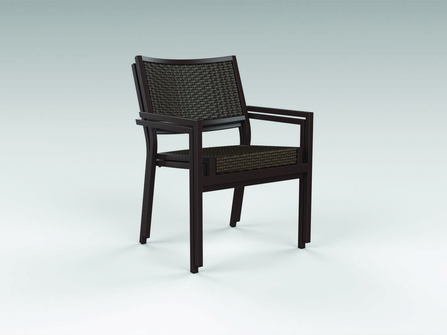 Cabana Chair Tropitone Cabana Club Woven Dining Chair Tp591537ws