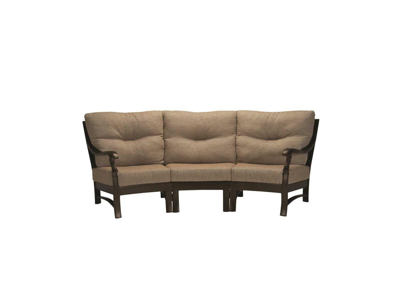 replacement cushions for sofa backs european style sets tropitone ravello crescent cushion