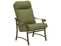 Tropitone Montreaux Ii Relaxplus Cushion Aluminum Dining