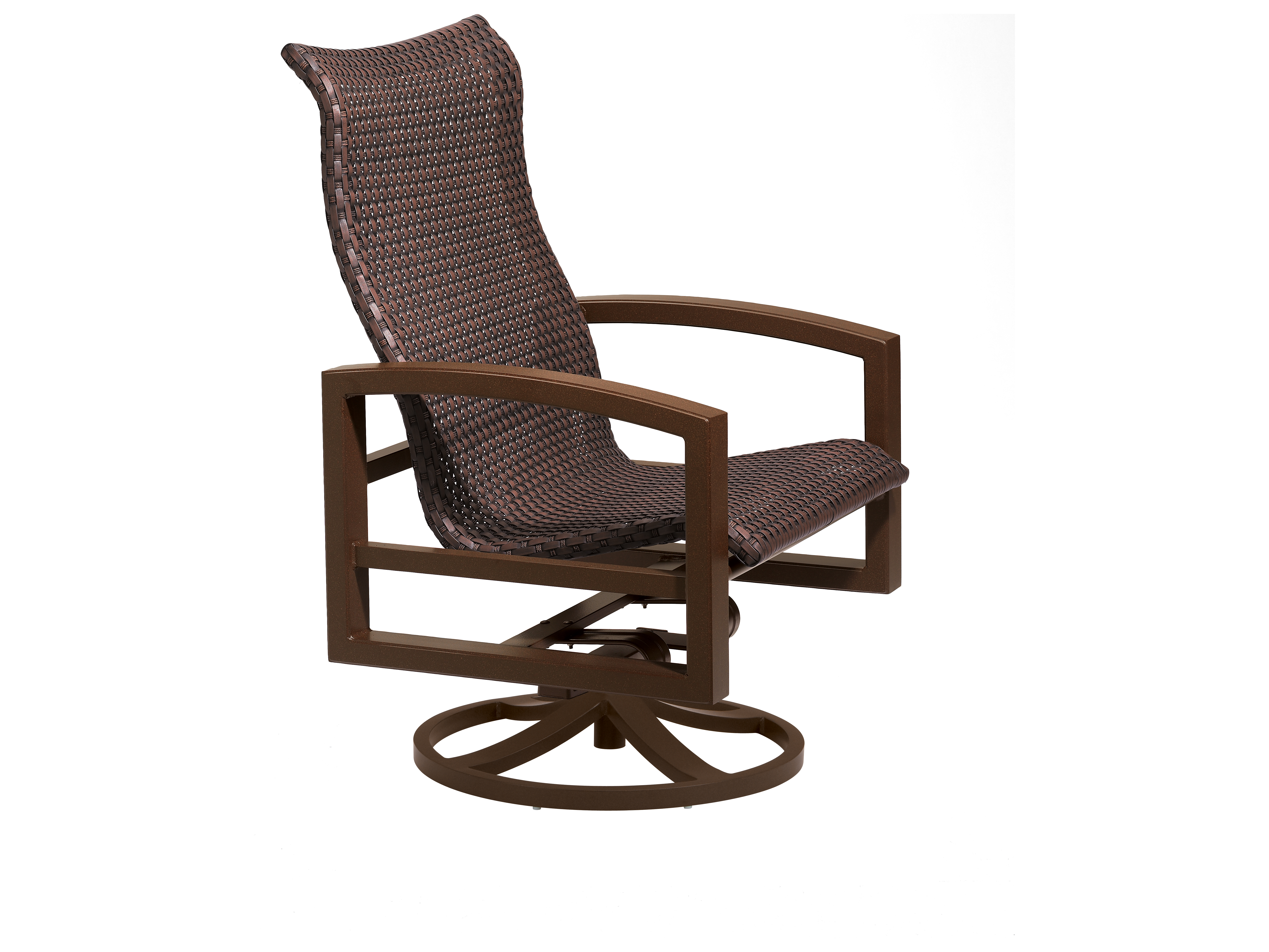 tropitone lounge chairs office chair design lakeside woven swivel action
